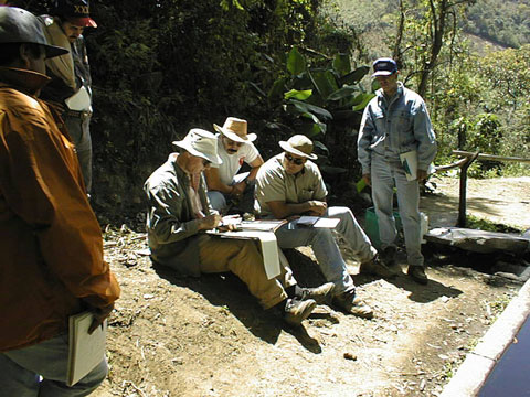 Calculating available water in Guatemala