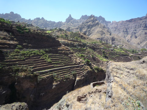 Irrigated Terraces, Cape Verde