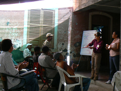 Postharvest workshop, Cape Verde