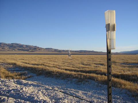 Weather Station, Owens Valley